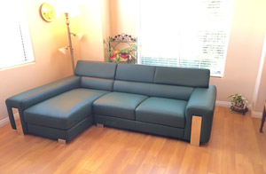Sofa of high quality leather