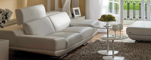 Italian leather couch by Calia Maddalena