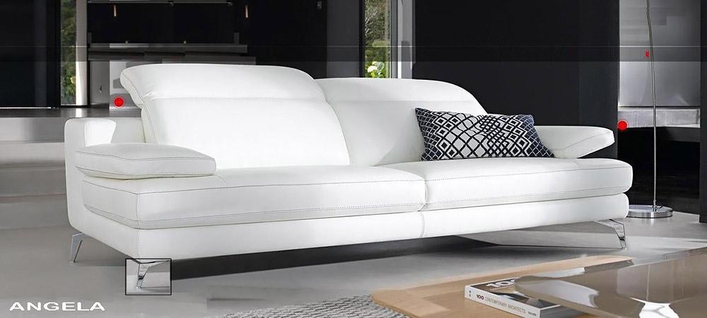 Italian Leather Sofa Angela By Calia Maddalena