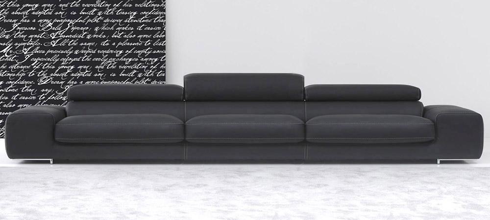 Italian Leather Sofa Arena by Calia Maddalena
