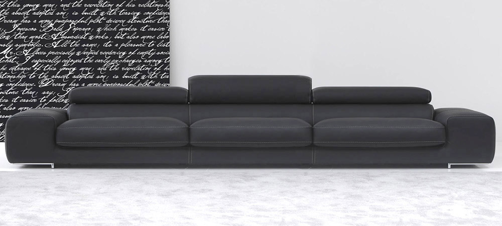 Leather Sofa Arena By Calia Maddalena