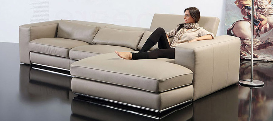 Corner Sofa Leather Sofa Forma