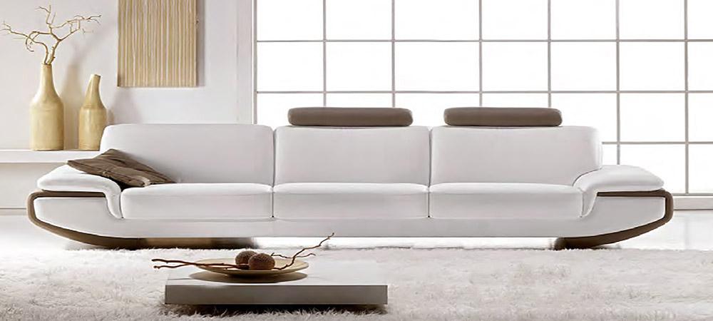 Nirvana 4 Seater Leather Sofa